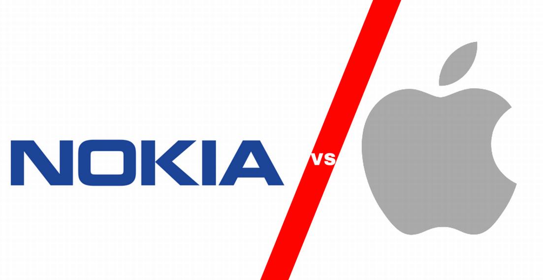 Nokia и Apple на прага на война за патенти